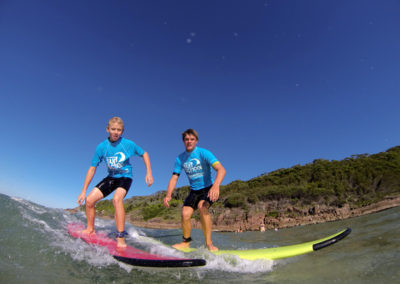 Surfing with a Surf Coach